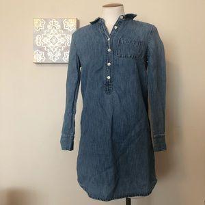 JCrew jean shirt/dress